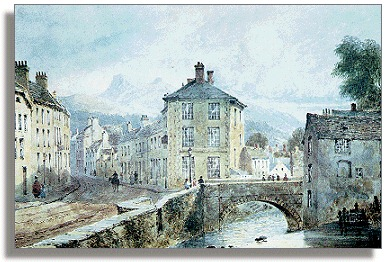 1850 view of Brecon