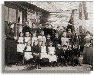 Children of Nantgwyllt School