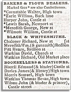 extract from Pigot's Directory