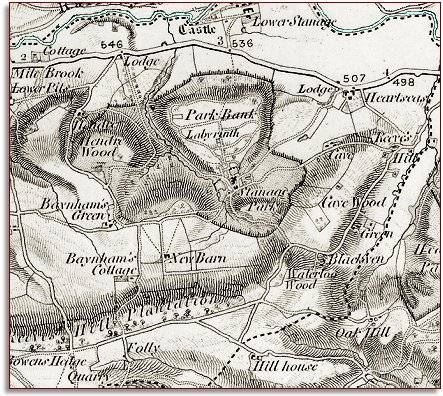 Stanage in 1833