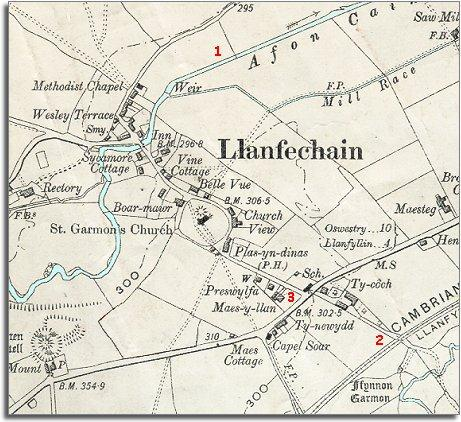 Llanfechain in 1902