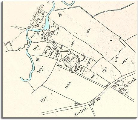 Llanfechain in 1840