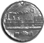 medal for the Grand Opening