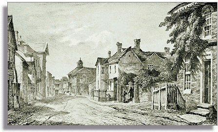 Print of Broad Street