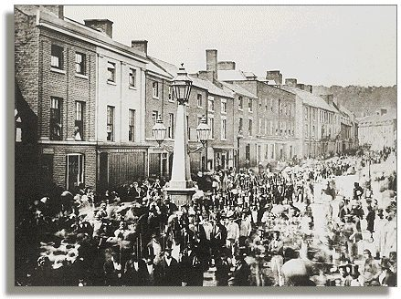 Parade in Broad Street
