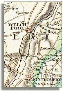 Map of route,1794